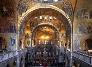 bazilika sv.marka interiér