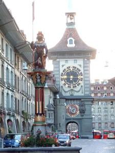 hodinová věž bern