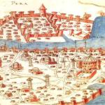 Istanbul - historická mapa